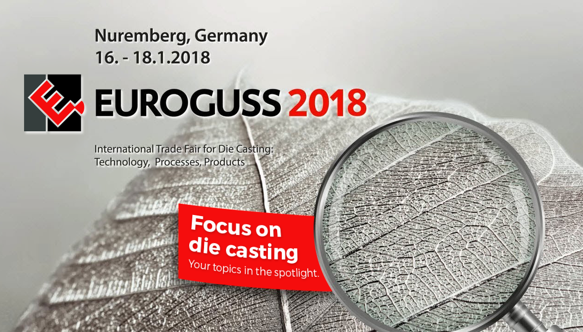 Torun Die Casting is attending Euroguss 2018 Trade Fair for Die Casting