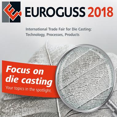 Torun Die Casting is attending Euroguss 2018 Trade Fair for Die Casting